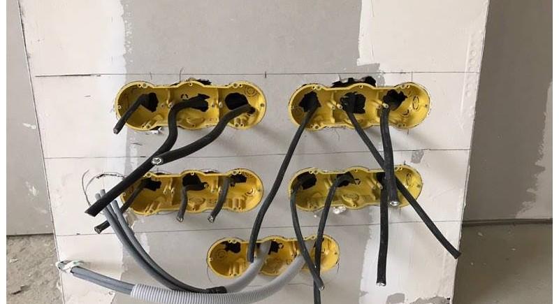 Изграждане на електроинсталация
